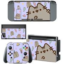 Nintendo Switch Console Dock Vinyl Skin Stickers Decals Kawaii Cute Cat Kitten - $9.60