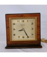 Hammond Synchronous Clock Wooden Cavalier Spin To Start Vintage Antique USA - $99.99