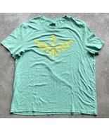 Legend of Zelda Skyward Sword Men's T-Shirt Size 2XL Green Nintendo T-Shirt - $9.89