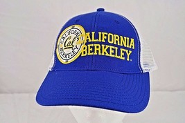 Cal Golden Bears White/Blue Trucker Style Baseball Cap Snapback - $24.99