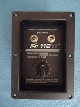 Peavey 112Ti Crossover attenuator & input Panel - $23.03