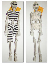 Halloween ~ Hanging Jointed Skeleton ~ NEW ~ Decor Props - $8.95