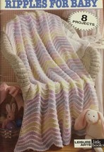 Vtg 80s Leisure Arts Beginner's Guide Ripples for Baby 8 Projects Crochet - $20.20