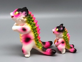 Max Toy Hot Pink Spotted Negora and Micro Negora w/ Fish - Rare image 7