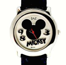 Mickey Seiko Jaz Mans Unworn Disney Collectable Watch Silver Tone Rare F... - $97.86