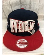 New Era 9Fifty New England Patriots NFL Vintage Collection SnapBack Cap Hat - $22.43