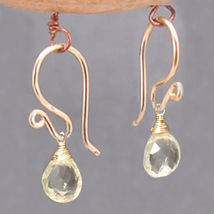French Earwires - Gold image 2