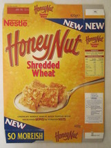 Empty Cereal Box HONEY NUT SHREDDED WHEAT 1997 NESTLE 420g From the UK [... - $12.76