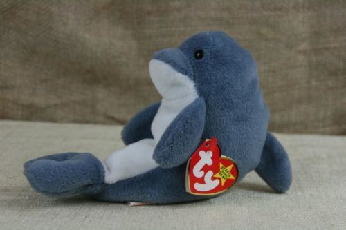 a5f4bd2f4db TY Beanie Baby Echo The dolphin With Tags and 50 similar items. 12