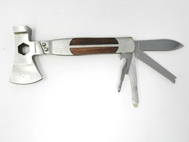 Sheffield No. 12301 12-In-1 Hatchet Multi-Tool-Usually ships within 12 h... - $14.84