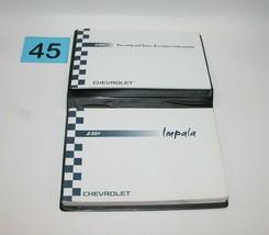 2004 Chevrolet Impala Factory Original Owners Manual Book Portfolio #45 - $17.77