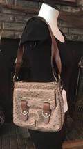 NWT Jessica Simpson Sheila Suntan Luggage Adjustable Crossbody Handbag JS4441 - $37.14