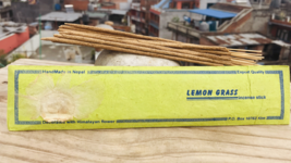 Lemon Grass Handrolled Natural Himalayan Flora Tibetan Incense Stick. - $4.19