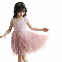 New Arrivel Lace Princess Toddler Kid Baby Girl Sleeveless Tulle Tutu Party - $13.36+