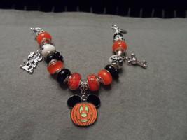 Authentic Pandora bracelet with Disney  Halloween Mickey Mouse theme (#2) - $82.00