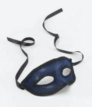 Azul Antifaz + Cinta Corbata, Baile de Máscaras Antifaz, Disfraz - ₹265.08 INR