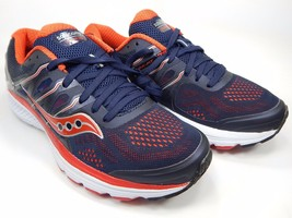 Saucony Omni 16 Men's Running Shoes Size US 9 M (D) EU 42.5 Navy Red S20370-2