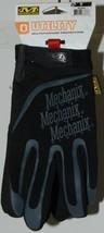 Mechanix Wear 911744 Utility Multipurpose Gloves Black Grey Large image 2