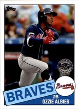 2020 Topps 1985 Style Ozzie Albies #85-11 - $3.00