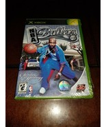 NBA Ballers Xbox Brand New **Inv00828** - $19.30