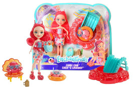 """Enchantimals Cameo Crab Chela & Courtney 6"""" Doll Playset New in Package - $27.88"""