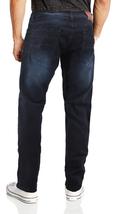 CS Men's Skinny Slim Fit Zip Fly Vintage Faded Wash Premium Denim Jeans image 11
