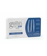 Gelish Soft Gel Tips - Long Coffin 550ct #1168096 - $31.63