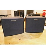 Sony SS-SR100 50W Speakers USA Made in USA - $32.66
