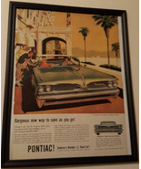 Beautiful framed vintage ad for the Pontiac Tempest 420E PRINT AD - 1958... - $17.99