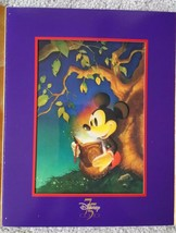 Walt Disney 75th Anniversary Mickey Mouse Lithograph - $9.90