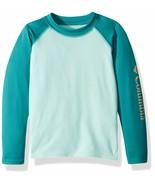 NWT Columbia Kids M (10-12) Omni-Shade UPF-50 Swim & Sun Guard Shirt   - $22.15