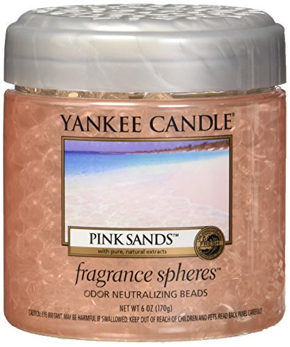Yankee Candle Pink Sands Fragrance Spheres Odor Neutralizing Beads, Fresh Scent