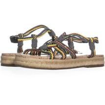Circus by Sam Edelman Athena Flat Sandals 625, Multi, 7 US / 37 EU - $17.27