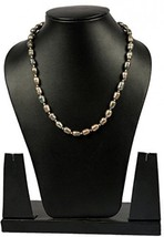Brown Pearl Strand 18 Inches Long, Natural And Genuine Gemstone Fashion ... - $39.75