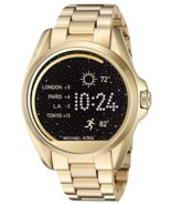NEW MICHAEL KORS (MKT5001) BRADSHAW ACCESS GOLD TOUCHSCREEN SMART WATCH - $4.426,45 MXN