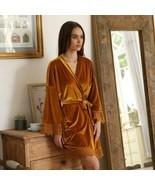 New Women's Velvet Robe Warm robe Bathrobe sale expedited shipping - $93.14
