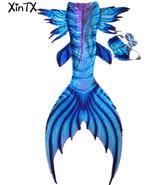 Fairy Mermaid Tail Swimmable Royal Blue Mermaid Costumes Swimming mermai... - $99.99+