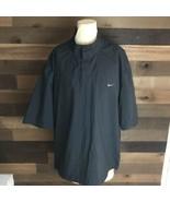 Nike Golf Storm Fit 3/4 Sleeve Black Jacket Mens Size Xl  - $56.10