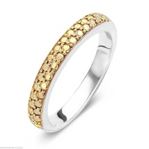 TI SENTO Milano 1414YD Sterling Silver .925 Ring w Gold Plated Pebble Top - $49.90
