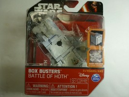 Lot Of 2 Star Wars Disney Box Busters: Battle of Hoth And Battle Of Yavin NIB - $9.89