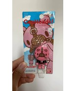 Gloomy Bear Pink Color CapHeads Keychain Keyholder Figure Mori Chax Taito - $9.01