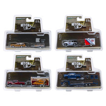 Hitch & Tow Series 18, Set of 4 pieces 1/64 Diecast Model Cars by Greenl... - $65.17
