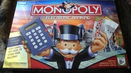 MONOPOLY ELECTRONIC BANKING GAME 2007- Complete - $25.00