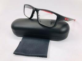 0a2828cebf57 New Oakley OX8049-0753 Satin Black VOLTAGE Eyeglasses 53mm with Oakley Case  - £102.11