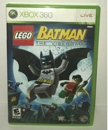 Xbox 360 Lego Batman The Videogame No Manual - $9.79