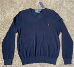 Polo Ralph Lauren J EAN S Co. 1/2 Half Zip Sweater Mens M Medium Olive Green - $56.09