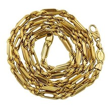 "4.4mm 14K Yellow Gold Men's/Women's Diamond-Cut Milano Rope Chain 20""-26... - £778.63 GBP+"