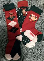 Tuffrider Christmas Socks Adults 3 Pack Size 7-9 image 3