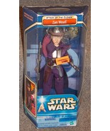 2002 Star Wars Attack Of The Clones Zam Wesell 12 inch Figure New In The... - $34.99