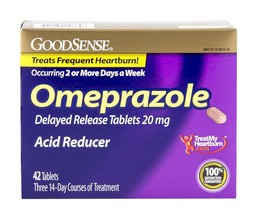 GoodSense Omeprazole Delayed Release Acid Reduc... - $18.52